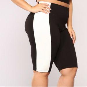 NEW fashion nova biker shorts